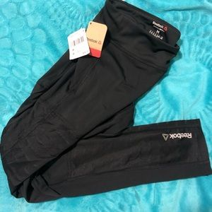 Reebok Dance Mesh Leggings in Black